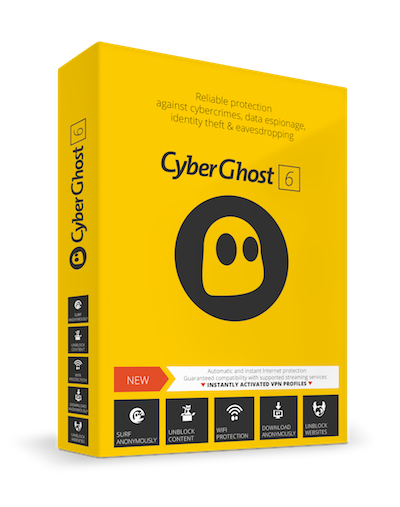 CyberGhost Box - English