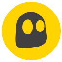 CyberGhost Logo - Yellow and Black